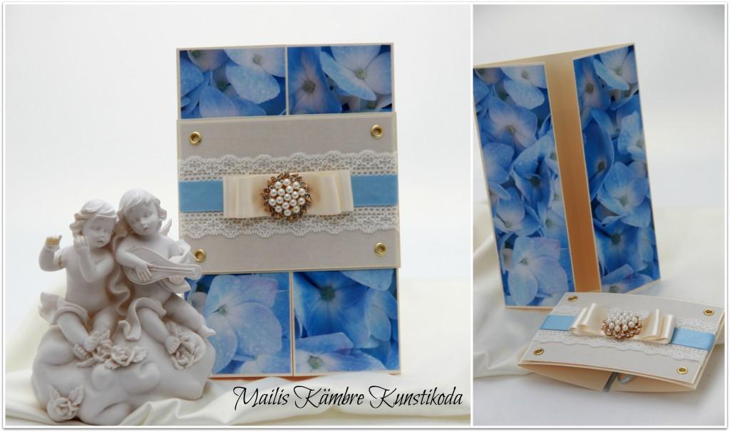 Sinine hortensia